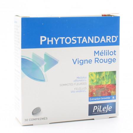 PiLeJe Phytostandard Mélilot / Vigne Rouge 30 comprimés