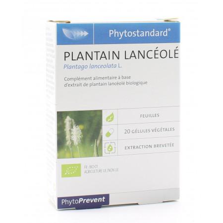 PiLeJe Phytostandard Plantain Lancéolé 20 gélules