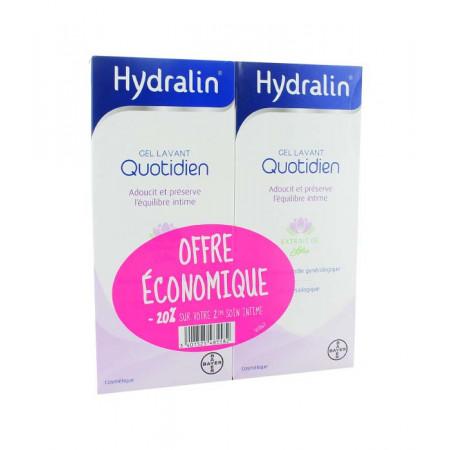 Hydralin Quotidien Gel Lavant 2X200ml