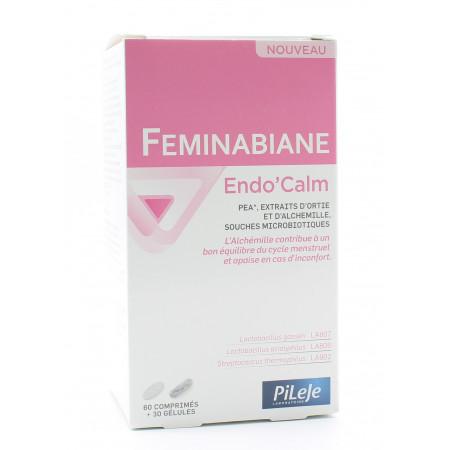 PiLeJe Feminabiane Endo'Calm 60 comprimés + 30 gélules