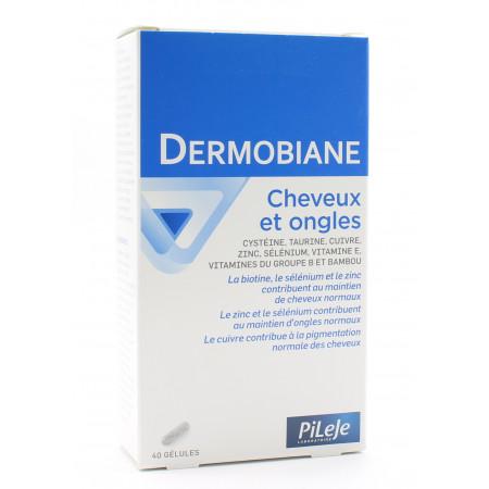 PiLeJe Dermobiane Cheveux et Ongles 40 gélules