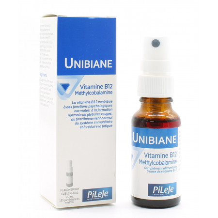 PiLeJe Unibiane Vitamine B12 20ml