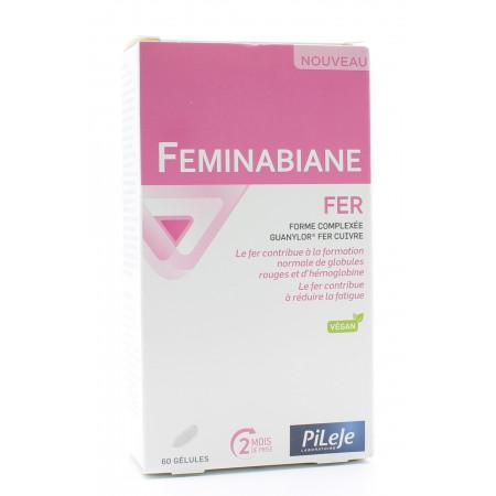 PiLeJe Feminabiane Fer 60 gélules