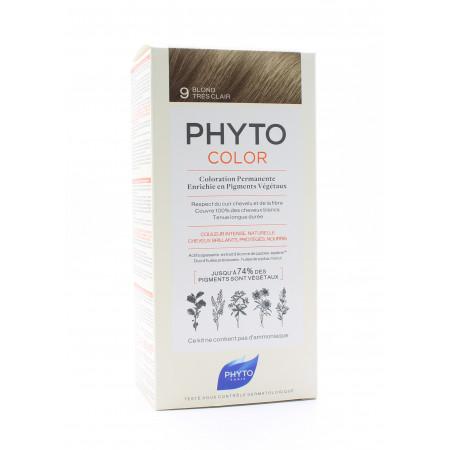 Phyto Color Kit Coloration Permanente 9 Blond Très Clair