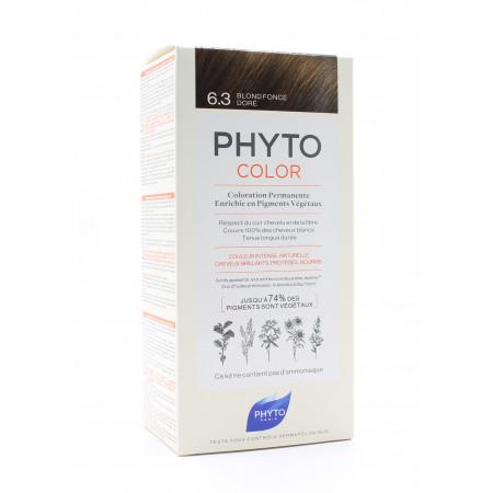 Phyto Color Kit Coloration Permanente 6.3 Blond Foncé Doré