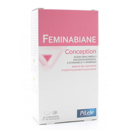 PiLeJe Feminabiane Conception 30 comprimés + 30...