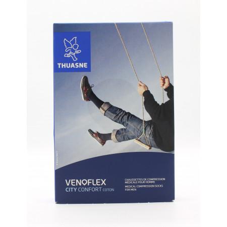 Thuasne Venoflex City Confort Coton T2N Noir
