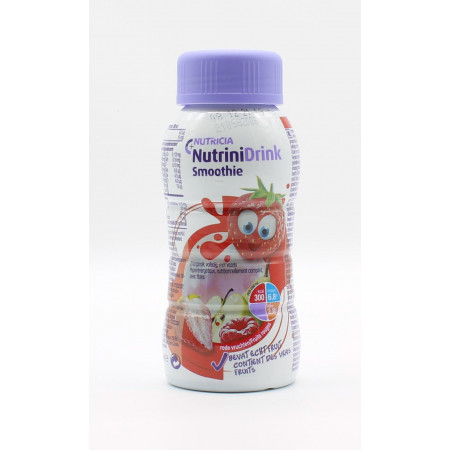 Nutricia Nutrini Drink Smoothie Arôme Fruits Rouges 200ml