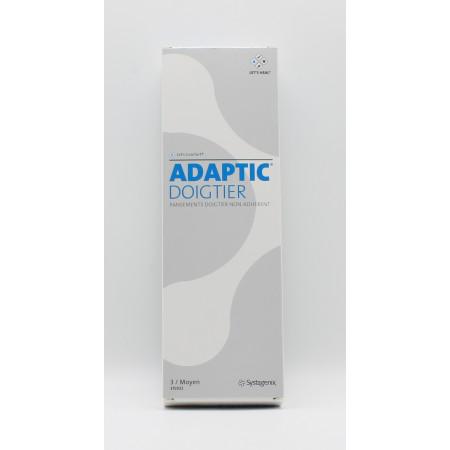 Adaptic Pansement Doigtier Non-Adhérent Moyen X3