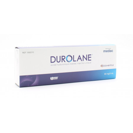 Durolane Injection Acide Hyaluronique 60mg/3ml
