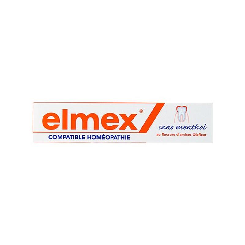 Dentifrice Elmex sans Menthol 75 ml