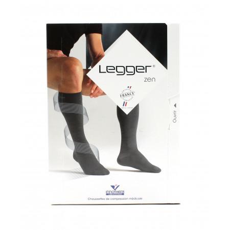 Legger Zen Chaussettes de Compression Médicale T2 Normal Noir