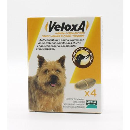 Veloxa Comprimés à Croquer pour Chiens X4
