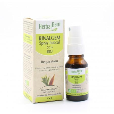 HerbalGem Rinalgem GC29 Bio Spray Buccal 15ml