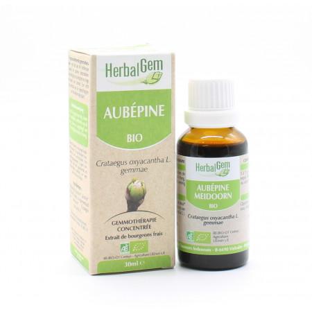 HerbalGem Aubépine Macérat Bio 30ml