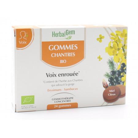HerbalGem Gommes Chantres Bio X24