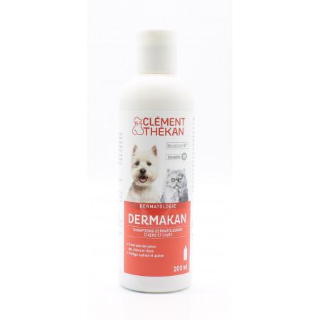 Clément Thékan Dermakan Shampooing Dermatologique Chiens et Chats 200ml