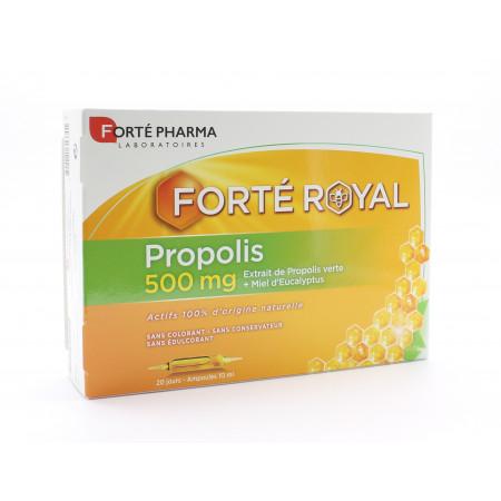 Forté Pharma Propolis 500mg Ampoules 20X10ml