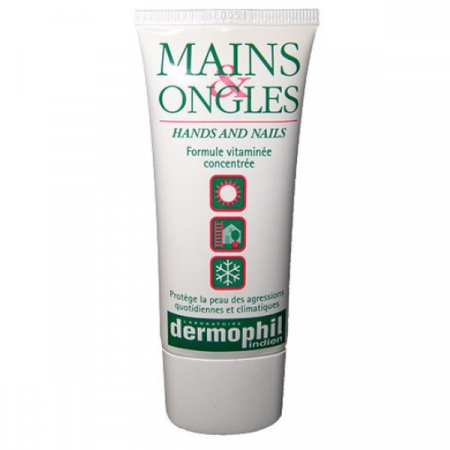 DERMOPHIL INDIEN MAINS ONGLES CREME TUBE 50ML