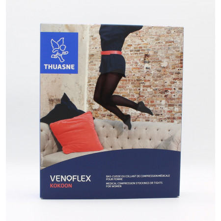 Thuasne Venoflex Kokoon C2 Collant T2N Noir
