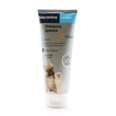 Biocanina Hygiène Shampoing Apaisant Chien et Chat 200ml