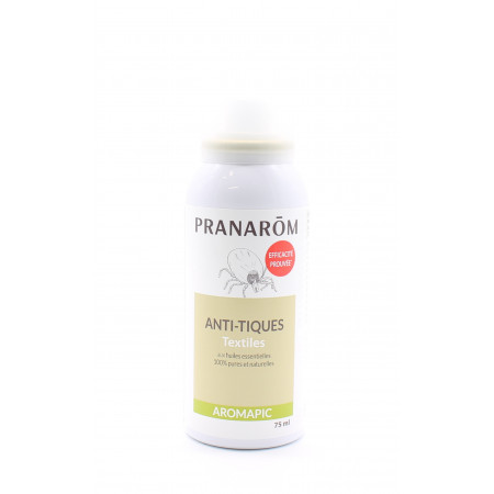 Pranarôm Aromapic Spray Anti-tiques Textiles 75ml