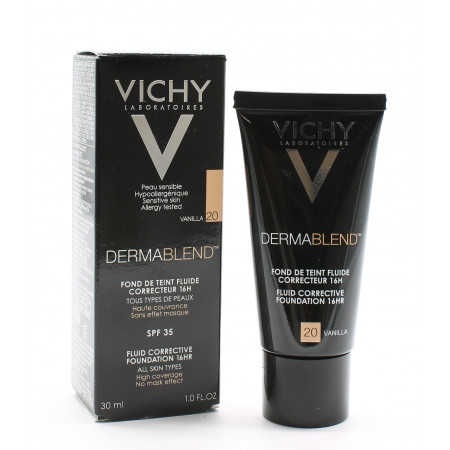 Vichy Dermablend Fond de Teint Fluide SPF35 Vanilla 20 30ml