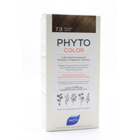 Phyto Color Kit Coloration Permanente 7.3 Blond Doré