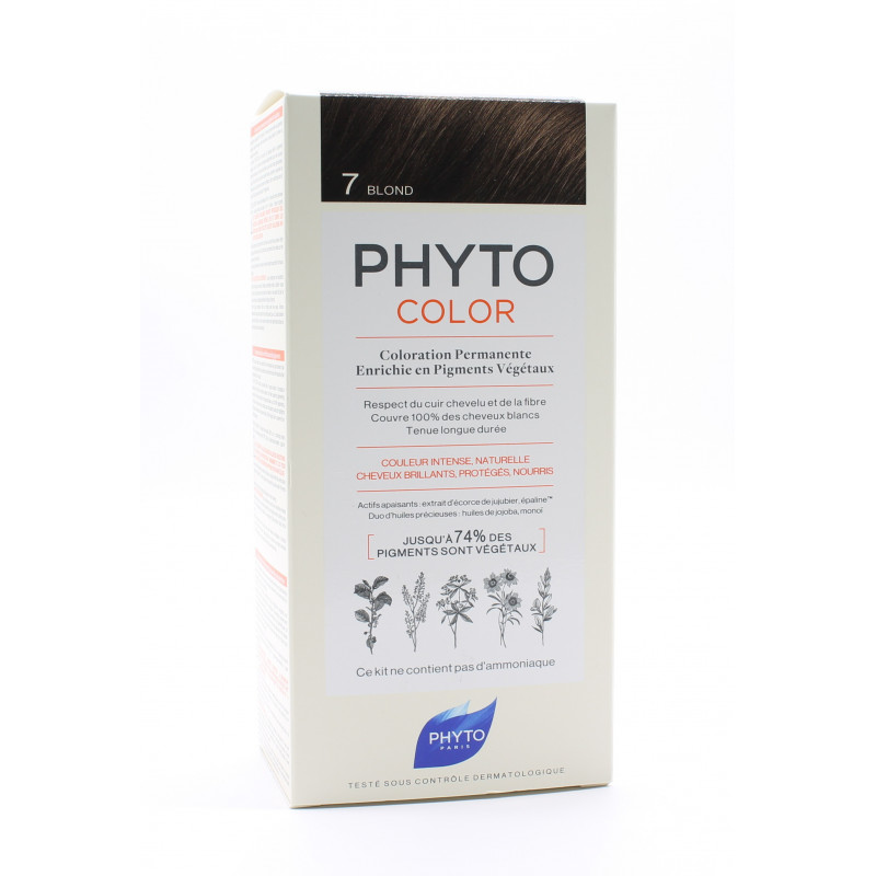 Phyto Color Kit Coloration Permanente 7 Blond