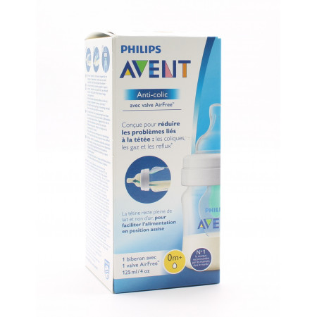 Philips Avent Biberon Anti-colic 0m+ 125ml