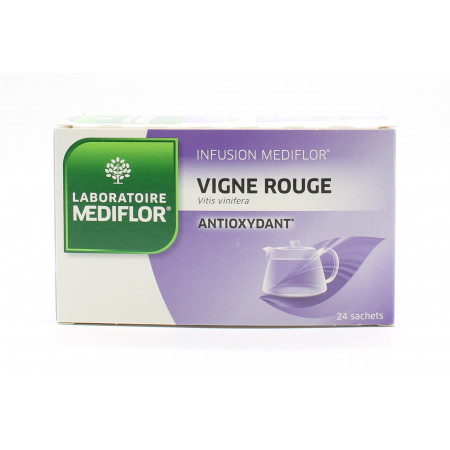 Mediflor Infusion Vigne Rouge Antioxydant 24 sachets