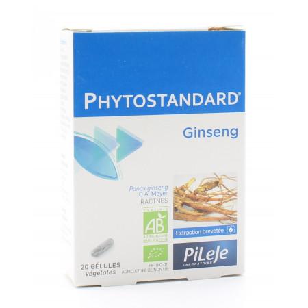 PiLeJe Phytostandard Ginseng 20 gélules