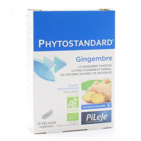 PiLeJe Phytostandard Gingembre 20 gélules