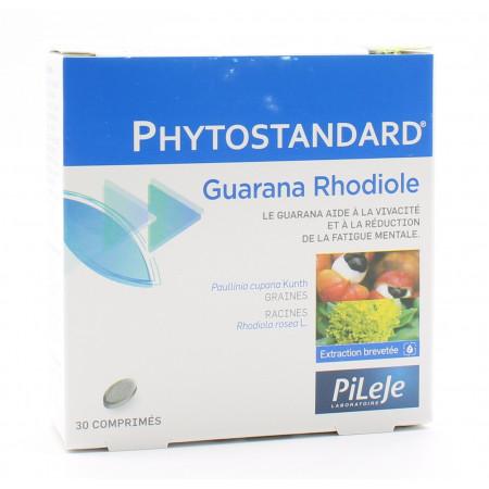 PiLeJe Phytostandard Guarana / Rhodiole 30 comprimés