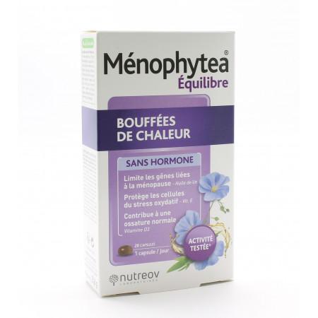 Ménophytea Équilibre Bouffées de Chaleur 28 capsules