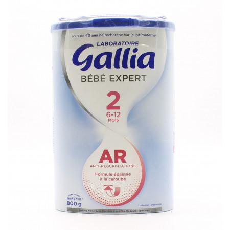 Gallia Bébé Expert 2 AR 6-12 mois 800g
