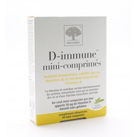 New Nordic D-immune 90 mini-comprimés
