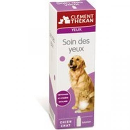 Soin des Yeux Chien et Chat Clément Thékan 100 ml