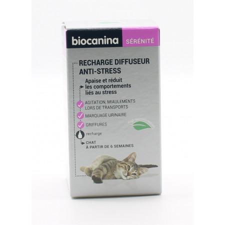 Biocanina Sérénité Recharge Diffuseur Anti-stress pour Chat 45ml