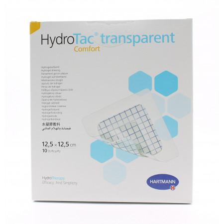 HydroTac Comfort Transparent 12,5X12,5cm 10 pièces