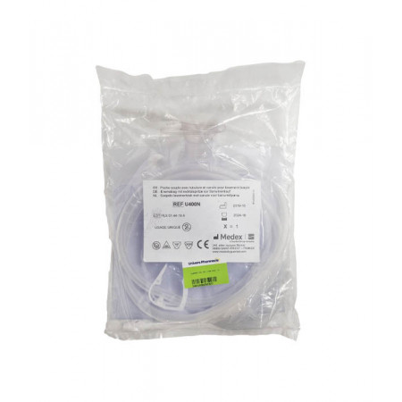Guerbet Poche Souple avec Tubulure et Canule U400N