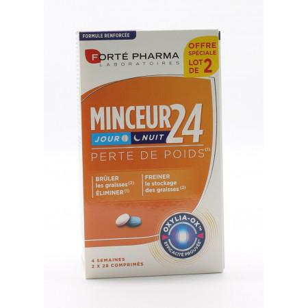 Forté Pharma Minceur 24 Jour et Nuit Perte de Poids 2X28 Comprimés