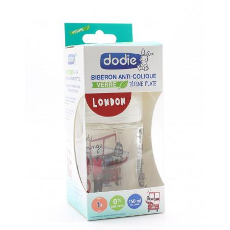 Dodie Biberon Sensation+ Anti-colique en Verre 0-6mois London 150ml