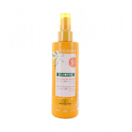Klorane Polysianes Spray Solaire Sublime SPF50 200ml