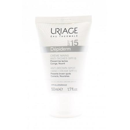 Uriage Dépiderm Crème Mains Anti-taches SPF15 50ml