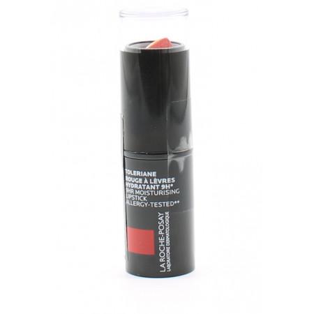 La Roche Posay Toleriane N°66 Corail Indien Rouge à Lèvre Hydratant 9h 4ml