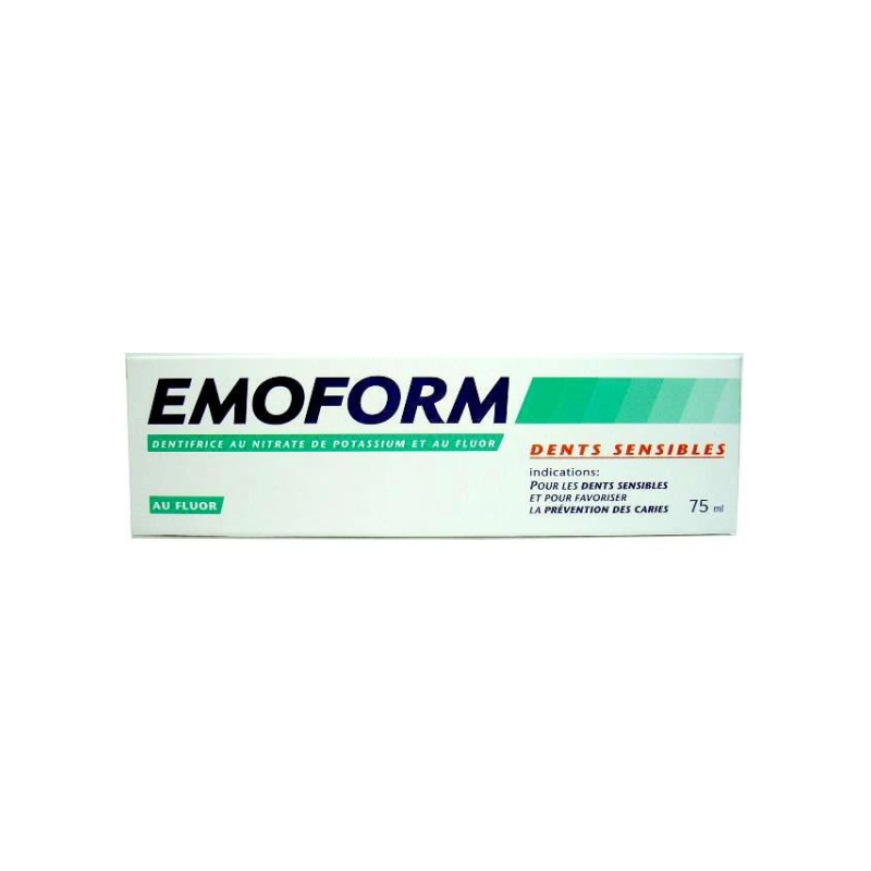 Dentifrice Emoform Dents Sensibles 75 ml