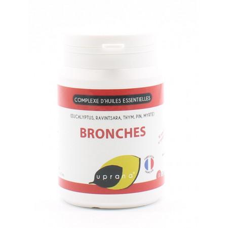 Uprana Complexe d'Huiles Essentielles Bronches 30 gélules