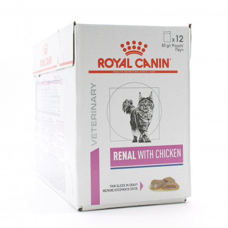 Royal Canin Veterinary Renal with Chicken 12X85g