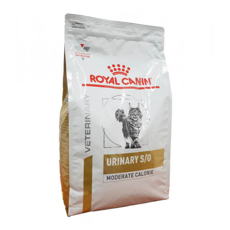 Royal Canin Veterinary Urinary S/O Moderate Calorie Chat 3,5kg